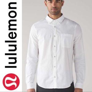 Lululemon Commission White L/S Oxford Shirt